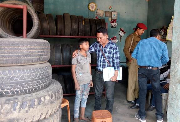 Four children rescued by Assam team