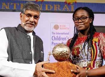 Greta Thunberg wins International Children's Peace Prize