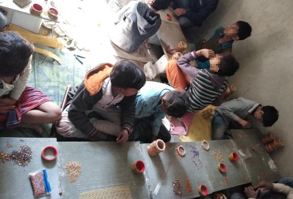 Ten children rescued by Rajasthan team