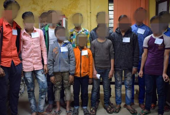 Thirteen children rescued by Delhi team